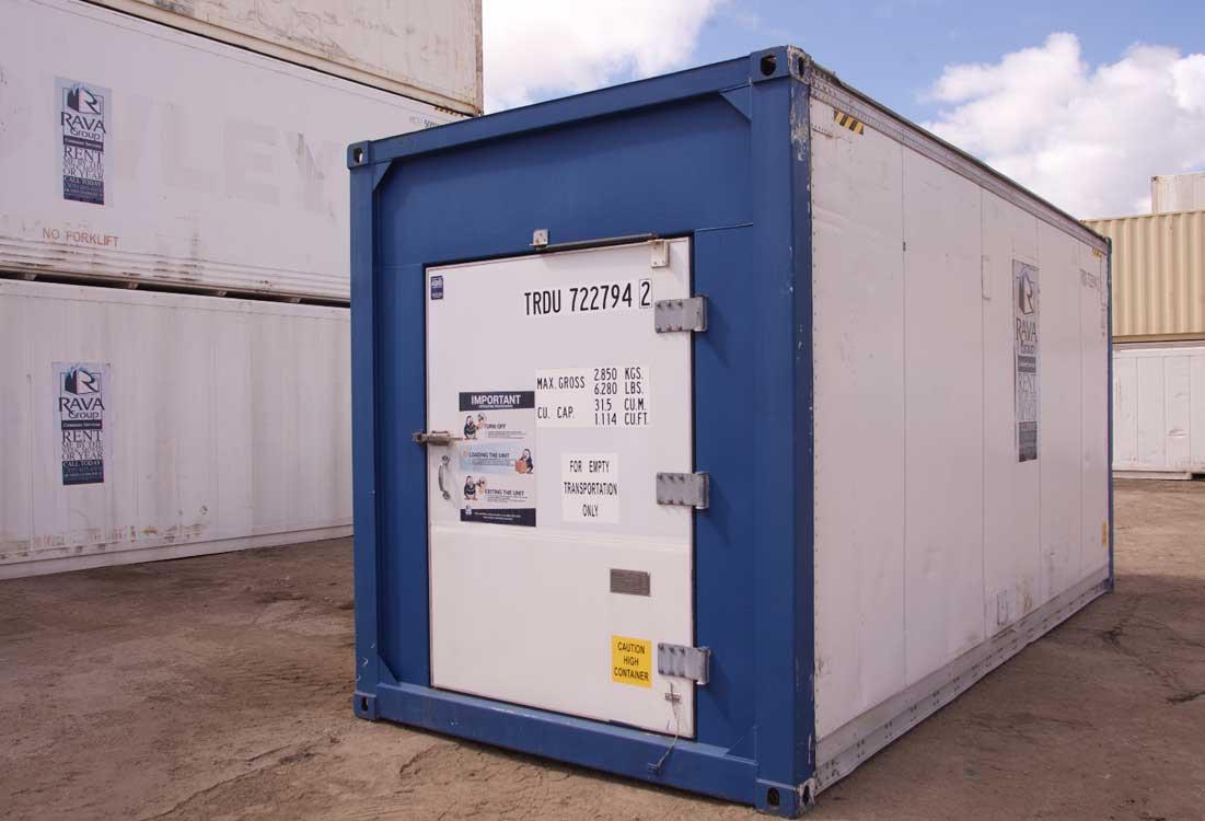 20′ Refrigerated Container (Special Door)