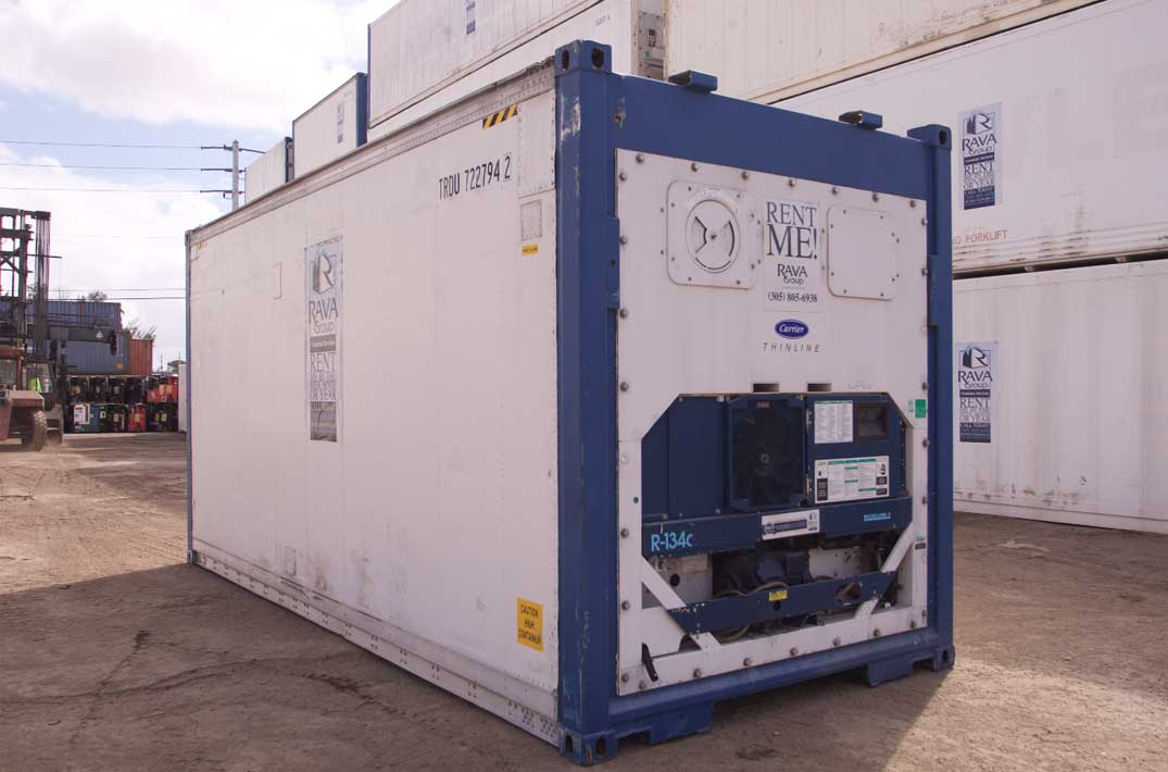 20′ Refrigerated Container