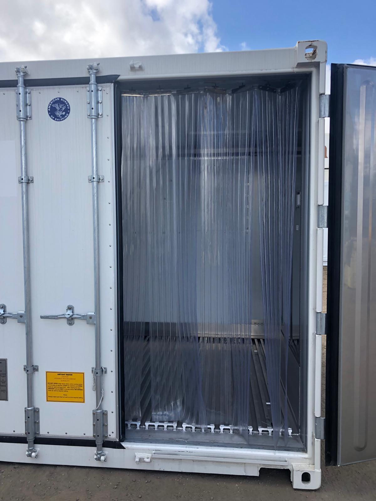 10′ Refrigerated Container (Curtains and Light)