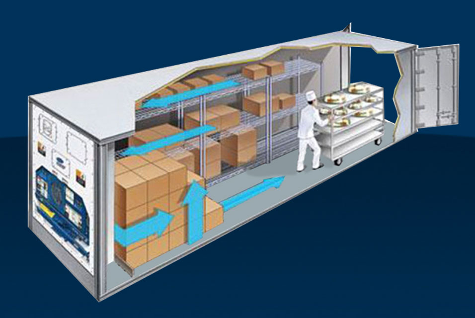 Flat Floor Refrigerated Containers