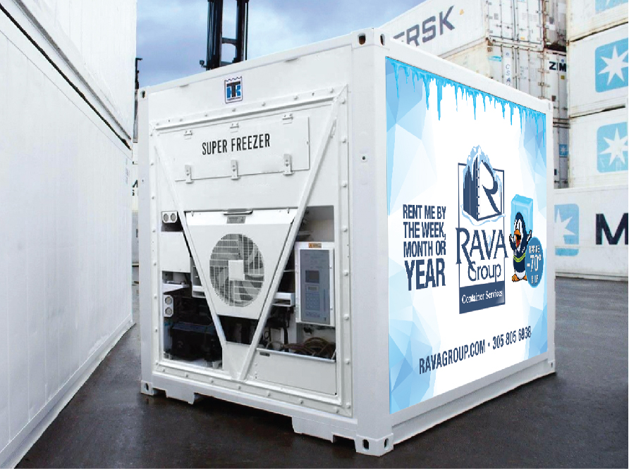 10′ Refrigerated Container (SUPER FREEZER)